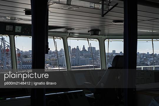 Skyline of Montevideo - p930m2148412 by Ignatio Bravo