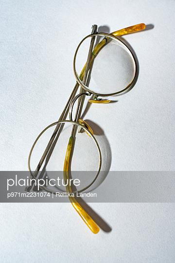 Antique glasses - p971m2231074 by Reilika Landen