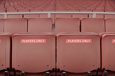 """""""Players only"""" seats - p1048m1123510 by Mark Wagner"""