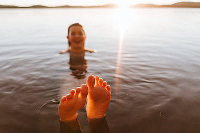 Summertimes at the lake - p1507m2168032 by Emma Grann