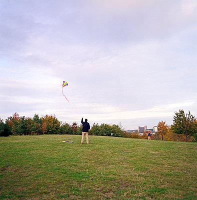 Drachen steigen lassen - p2683142 von Robert Pola