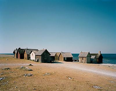 Fischerhütten in Helgumannen - p972m1136655 von Felix Odell