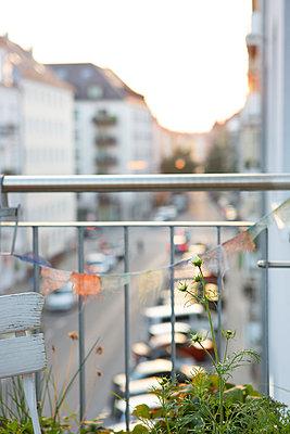 Blick vom Balkon - p454m2047753 von Lubitz + Dorner