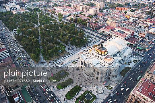 Palacio de Bellas Artes - p1167m971659 von Maria Schiffer