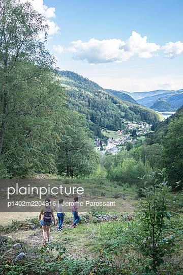 France, Hiker - p1402m2204916 by Jerome Paressant