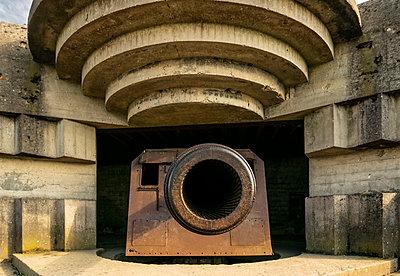 World War II german battery  - p1691m2288601 by Roberto Berdini Bokeh