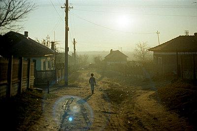 Dorf bei Craiova, Rumänien - p9792688 von Otto
