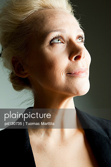 Portrait of a blonde woman - p4130735 by Tuomas Marttila