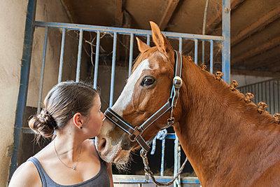 Riding horse - p1293m1138927 by Manuela Dörr