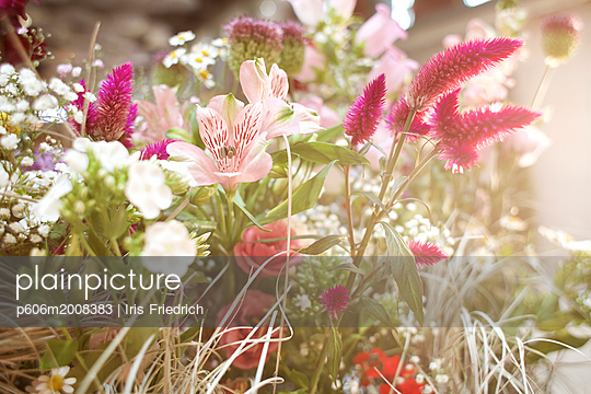 Zartes Blumengesteck - p606m2008383 von Iris Friedrich
