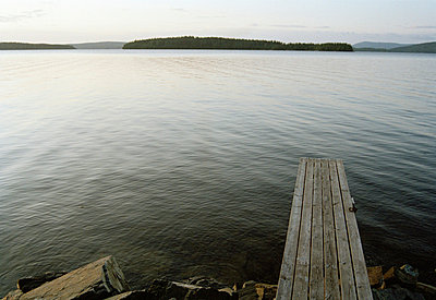A jetty by the sea Sweden. - p31216656f by Camilla Sjödin