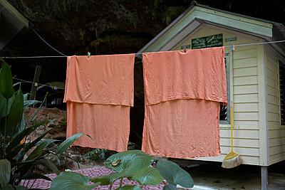 Mönchsunterkunft in Thailand - p6060051 von Iris Friedrich