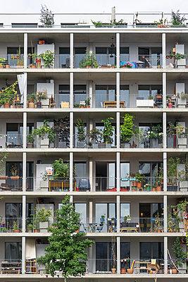 Living in a box - p1657m2295010 by Kornelia Rumberg