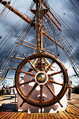 Ship's Helm - p1084m1036834 by GUSK
