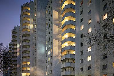 Hafencity am Abend - p1222m1333239 von Jérome Gerull
