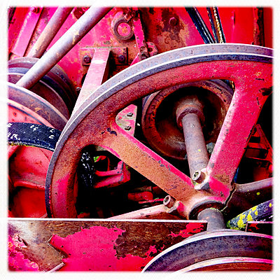 Machinery in Palouse Region, WA     - p3438368 by Teri Lou Dantzler