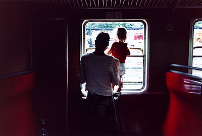 Travelling by train - p972m1160335 by Johan Warden