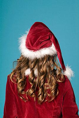Weihnachtsfrau - p502m1000641 von Tomas Adel