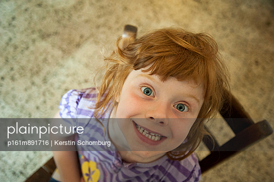 Red-haired girl - p161m891716 by Kerstin Schomburg