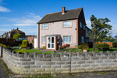 House at the corner - p1057m851574 by Stephen Shepherd