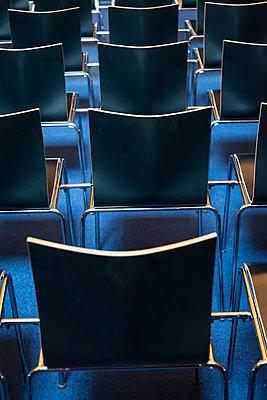 Row of chairs - p1170m2081717 by Bjanka Kadic