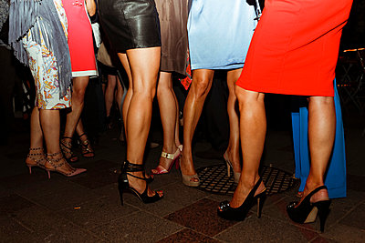 Women at a party - p432m854480 by mia takahara