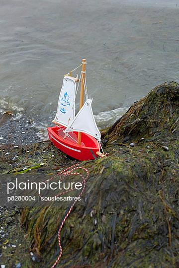 Mini Segelboot - p8280004 von souslesarbres