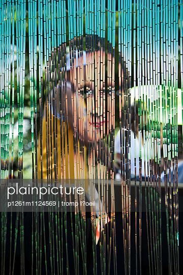 Die Mona - p1261m1124569 von tromp l'oeil
