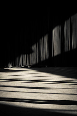 Theatre curtains and shadows - p1170m1125317 by Bjanka Kadic