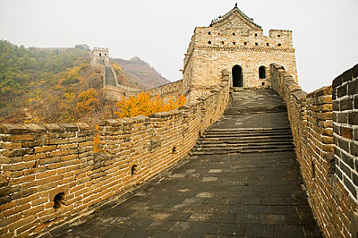 Mutianyu section of the great wall of china - p9246178f by Image Source