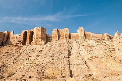 Zitadelle in Aleppo, Syrien - p1493m2063586 von Alexander Mertsch