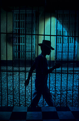 Man in Trinidad - p8700071 by Gilles Rigoulet