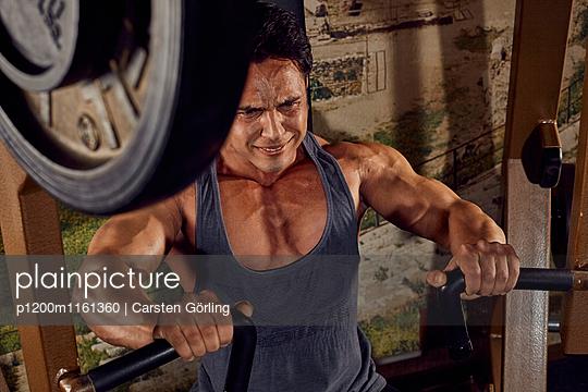 Bodybuilding - p1200m1161360 von Carsten Goerling