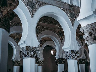 Spain, Toledo, Church, Santa María la Blanca - p1681m2263295 by Juan Alfonso Solis
