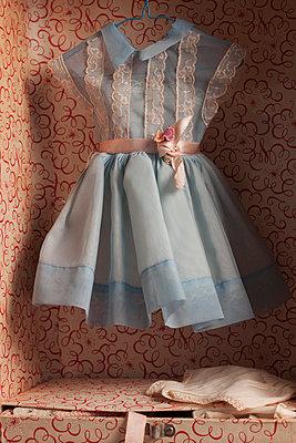 Dress of a doll - p8370022 by Cornelia Hediger