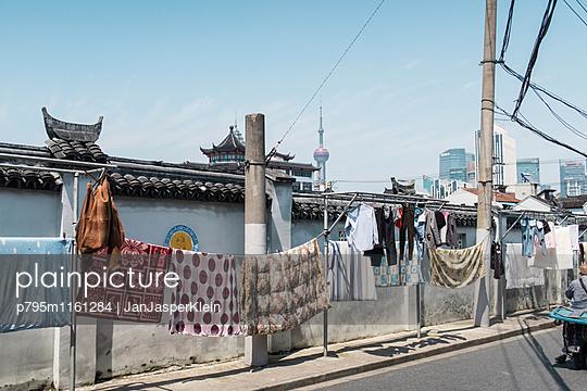 Alltag in Shanghai - p795m1161284 von Janklein