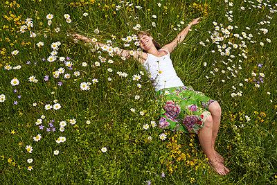 Auf der Blumenwiese - p888m955430 von Johannes Caspersen