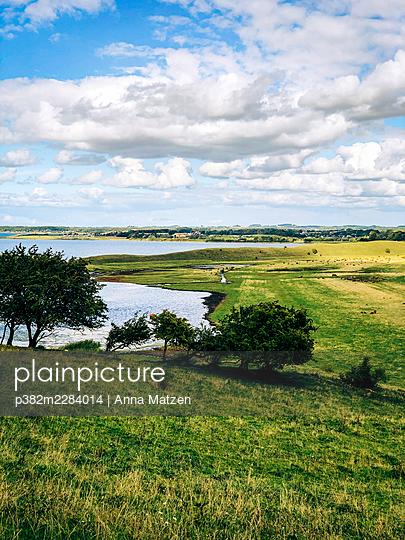 Landscape on Helnaes - p382m2284014 by Anna Matzen