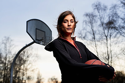Basketball - p890m1214171 von Mielek