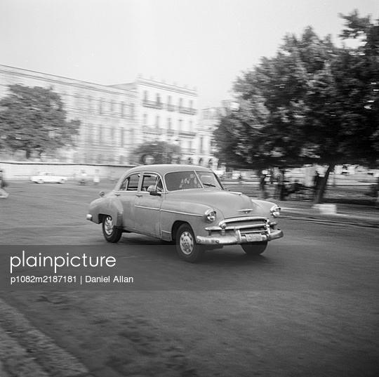 Kuba, Havanna, Oldtimer - p1082m2187181 von Daniel Allan