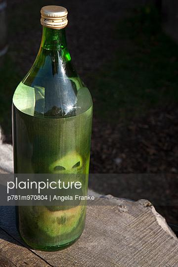 Horrorflasche - p781m970804 von Angela Franke