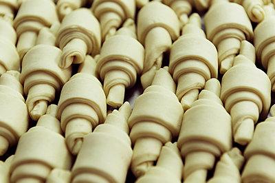 Unbaked Croissants - p1041m883475 by Franckaparis