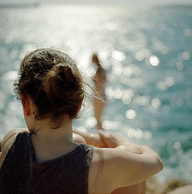 Beach holidays - p1468m1528599 by Philippe Leroux