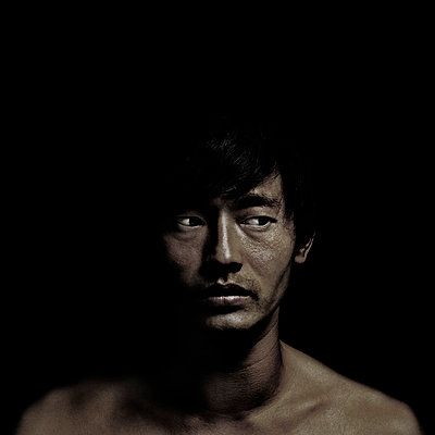 Mann im Dunkeln - p9100210 von Philippe Lesprit