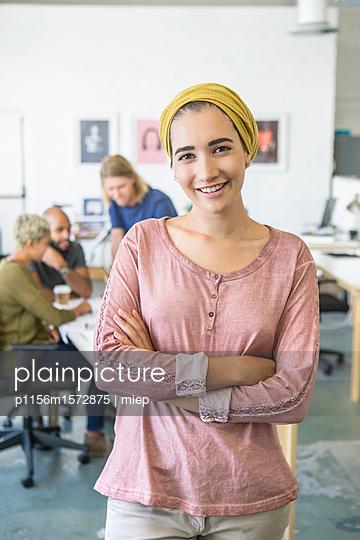 junge Leute Business/ Start up /Entwickler - p1156m1572875 von miep