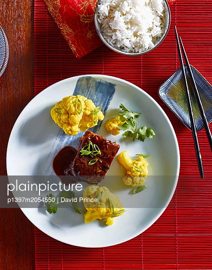 Asian food - p1397m2054550 by David Prince