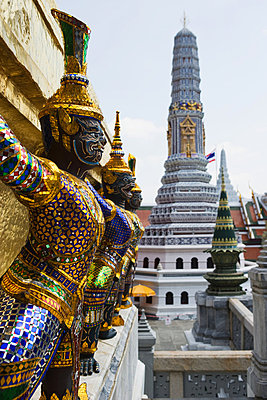 Yaksha at wat phra kaeo - p9245731f by Image Source