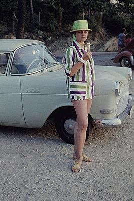 Urlaub in Frankreich 1958 - p0030783 von Carolin