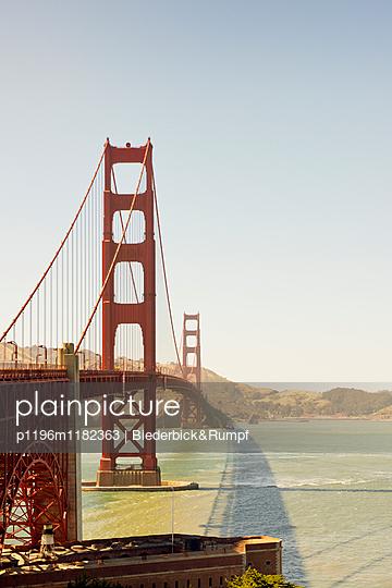 Golden Gate Bridge - p1196m1182363 von Biederbick & Rumpf
