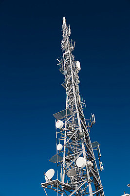 Communication tower - p312m799330f by Per Eriksson